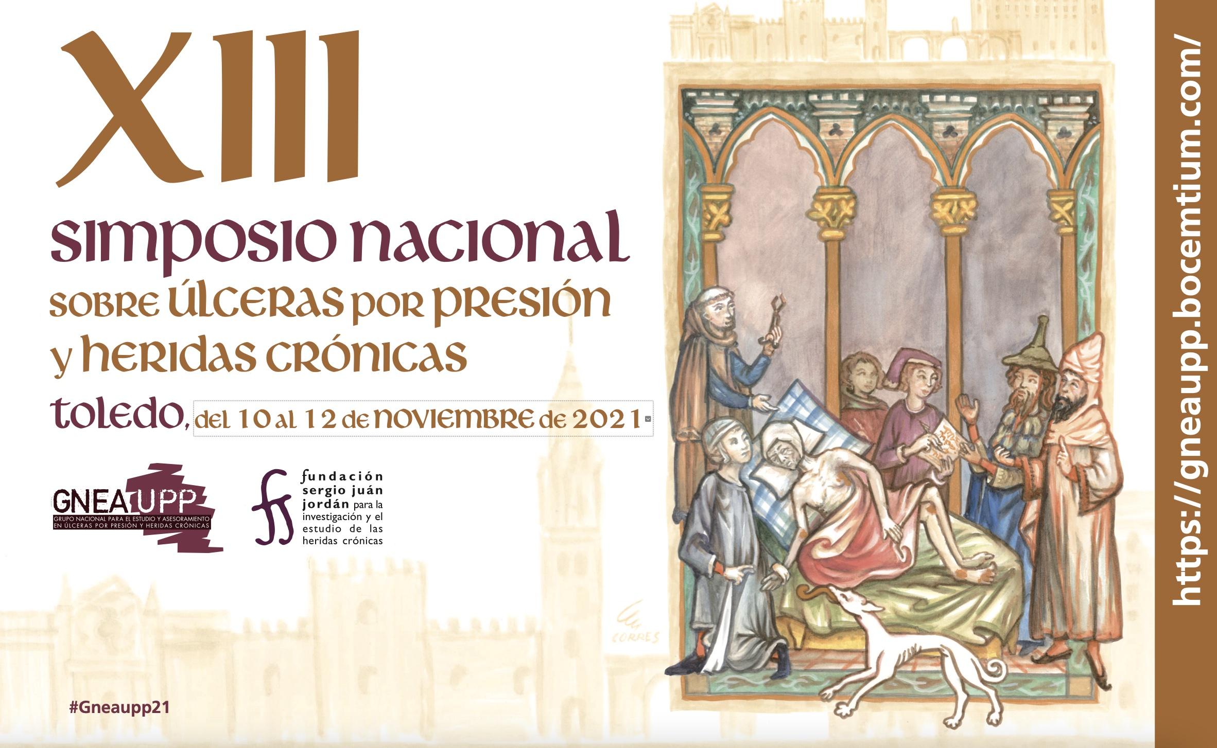 Programa del XIII Simposio nacional sobre UPP y heridas crónicas del GNEAUPP